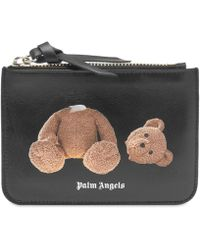 Palm Angels Kill The Bear Wallet - Black