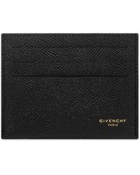 Givenchy Eros Leather Card Holder - Black