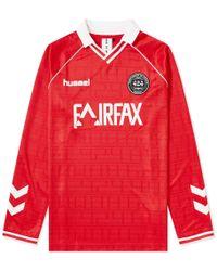 424 X Hummel Fairfax Long Sleeve Jersey - Red