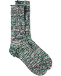 Anonymous Ism | 5 Colour Mix Crew Sock | Lyst