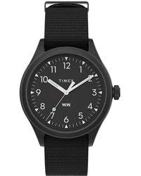 Timex X Wood Wood Waterbury Watch - Black