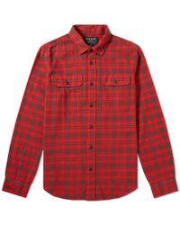 Filson Scout Shirt - Red