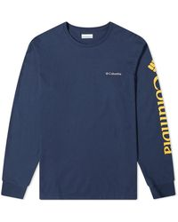 Columbia Long Sleeve North Cascades Tee - Blue
