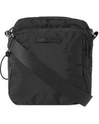 Our Legacy Valve Cross Body Bag - Black