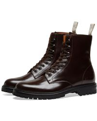 Common Projects Combat Boot Lug Sole - Brown