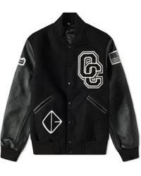 Opening Ceremony Oc Varsity Jacket - Black