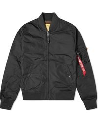 Alpha Industries Ma-1 Tt Bomber Jacket - Black