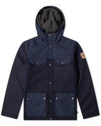 Fjallraven Greenland Re-wool Jacket - Blue