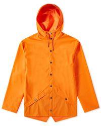 Rains Classic Jacket - Orange