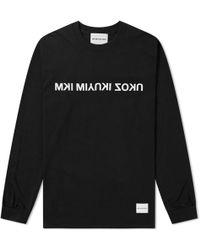MKI Miyuki-Zoku - Long Sleeve Mix Logo Tee - Lyst