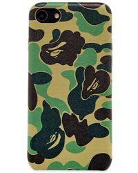 A Bathing Ape Abc Iphone 8 Case - Green