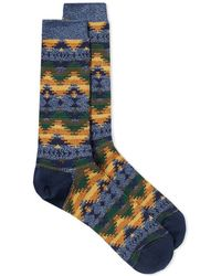 Anonymous Ism - Cotton-blend Jacquard Socks - Lyst