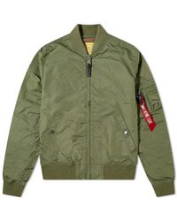 Alpha Industries Ma-1 Blood Chit - Green