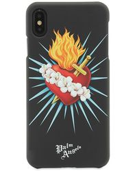 Palm Angels Sacred Heart Iphone X Case - Black