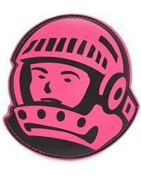 BBCICECREAM Astro Leather Pouch - Pink
