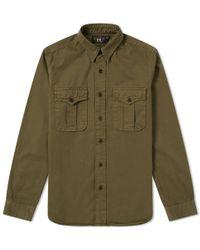 RRL - Gi Military Shirt - Lyst