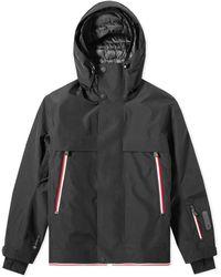 3 MONCLER GRENOBLE Miller Ski Recco Jacket - Black