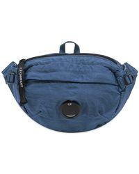 C P Company Waist Bag - Blue