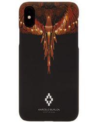 Marcelo Burlon Wings Iphone X Case - Black