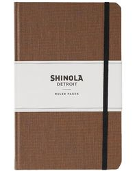 Shinola - Medium Lined Journal - Lyst