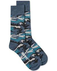 Beams Plus - Camo Sock - Lyst