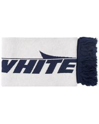 Off-White c/o Virgil Abloh Wing Off Scarf - White