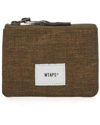 WTAPS Cream Wallet - Green