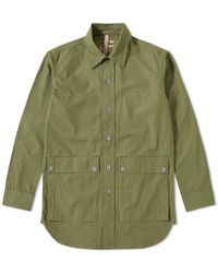 0ea27613235c Nigel Cabourn - Lybro Mountain Division Shirt Jacket - Lyst