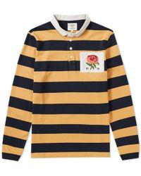 Kent & Curwen - Finney Stripe Rugby Shirt - Lyst