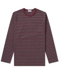 Nanamica - Coolmax Stripe Long Sleeve Tee - Lyst