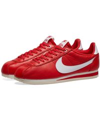 Nike X Stranger Things Cortez Trainers - Red