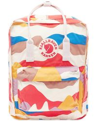 "Fjallraven Fjallraven Kanken Art 13"" Laptop Backpack Spring Landscape - Multicolour"