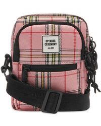 Opening Ceremony - Plaid Cross Body Bag - Lyst