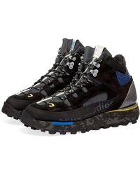 Acne Studios Bertrand Hiking Boot - Black