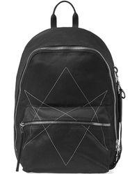 Rick Owens - Drkshdw Hexagram Embroidered Backpack - Lyst