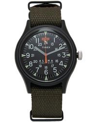 Timex X Alpha Industries Mk1 Aluminium - Black