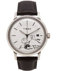 """Timex Archive """"charlie Brown"""" Marlin Automatic Watch - Metallic"""