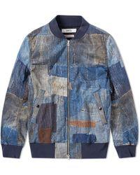 FDMTL - Printed Boro Ma-1 Jacket - Lyst
