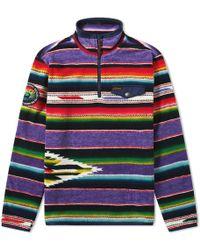 Polo Ralph Lauren - Fleece Half Zip Sweat - Lyst