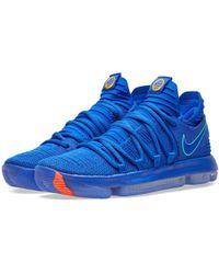 Nike Zoom Kd10 - Blue