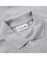 Lacoste - Marl Pique Polo - Lyst