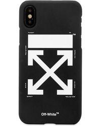 Off-White c/o Virgil Abloh Arrow Logo Iphone X Case - Black