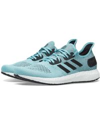 0478d3fd43c Lyst - adidas Ultra Boost Laceless Parley in Blue for Men