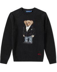 Polo Ralph Lauren - Bear Knit - Lyst