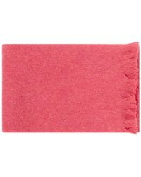 Our Legacy Wool Scarf - Pink