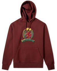 Tommy Hilfiger Embroidered Crest Hooded Jumper