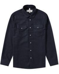 Soulland - Tom Flannel Shirt - Lyst