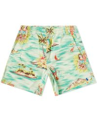 Polo Ralph Lauren - Stretch Twill Flat Shorts - Lyst
