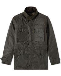 Barbour - Sapper Wax Jacket - Lyst