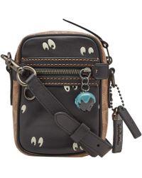 COACH - X Disney Eyes Mini Dylan Messenger Bag - Lyst